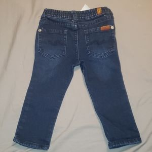 7 for all man kind jeans size 18 months